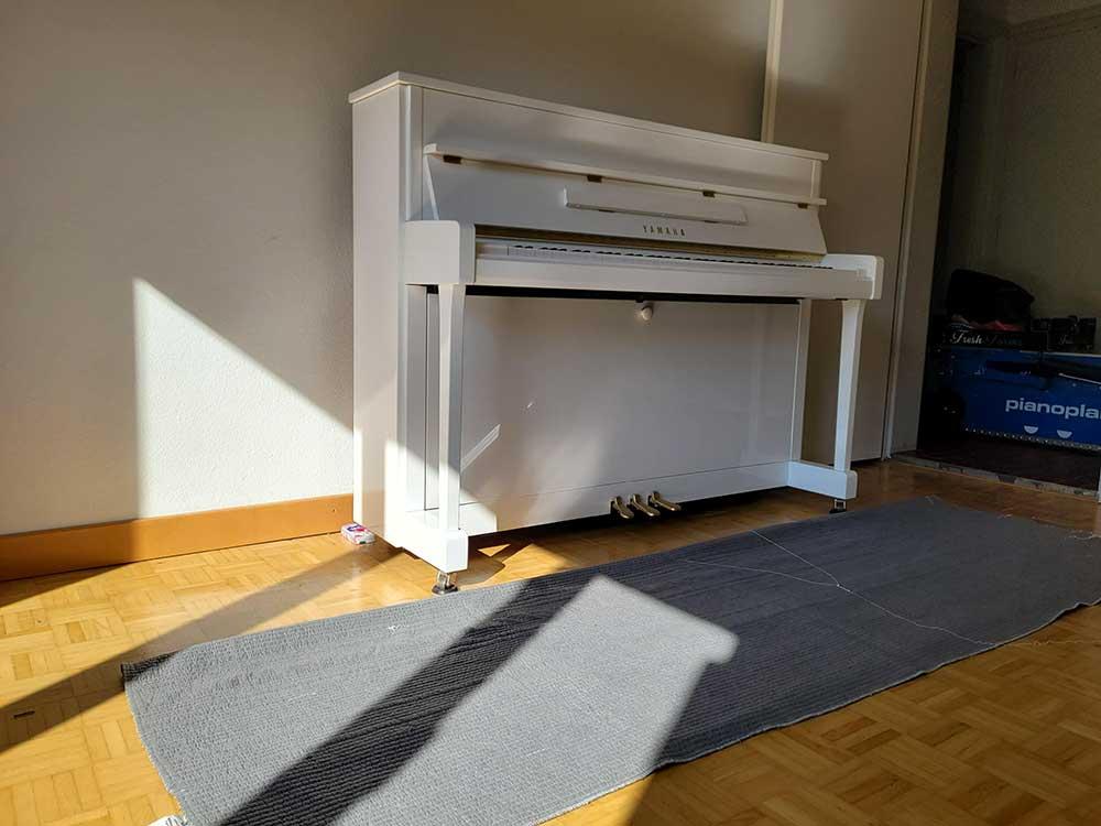Klaviertransport - Mit den Profis von Limmat-Zürich Umzug
