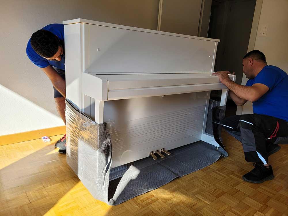 Klaviertransport - Ihr Musikinstrument ist in den besten Händen