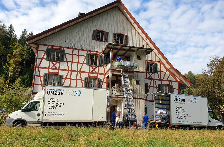 Limmat-Zürich Umzug - Umzüge
